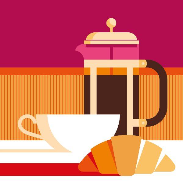 Coffe & Croissant