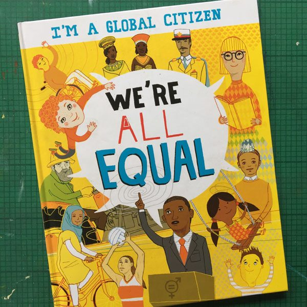 We're all Equal book cover