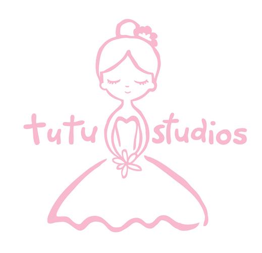 Logo For Tutu Studios Ballet School