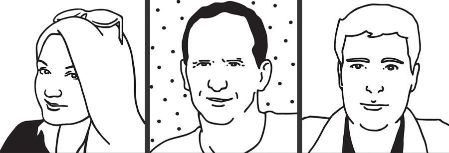 Staff Portraits for Reactive Graphics website