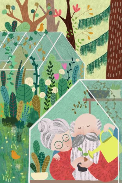 Grandpa's greenhouse
