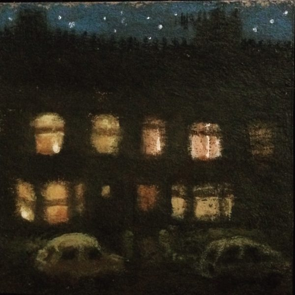 Cosy nighttime windows