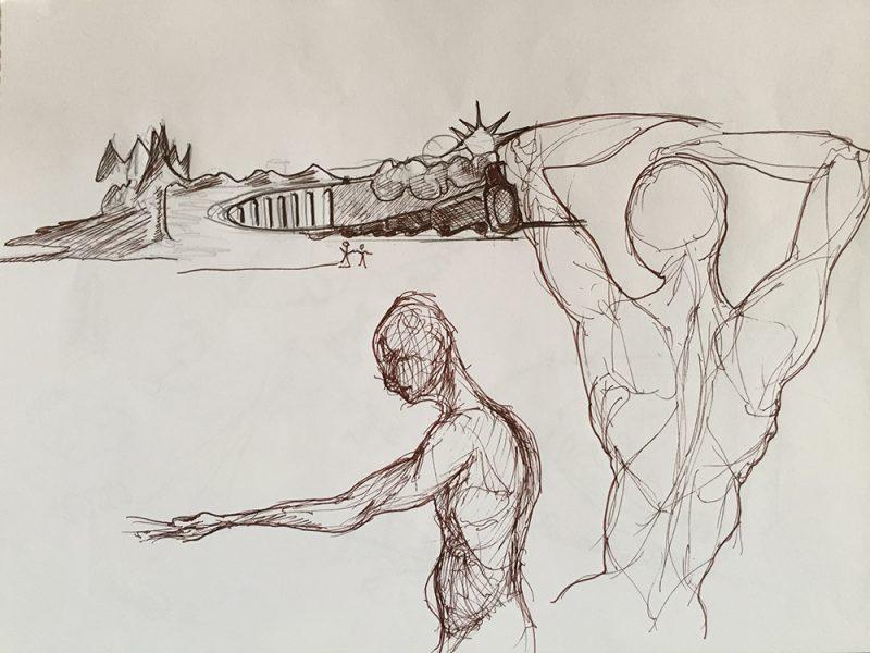 figurative sketch