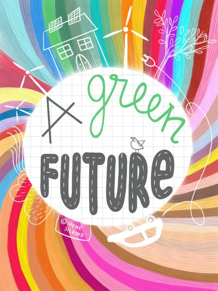 A green future - Illustrated by Irene Silvino