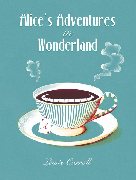 Alice In Wonderland cover mockup