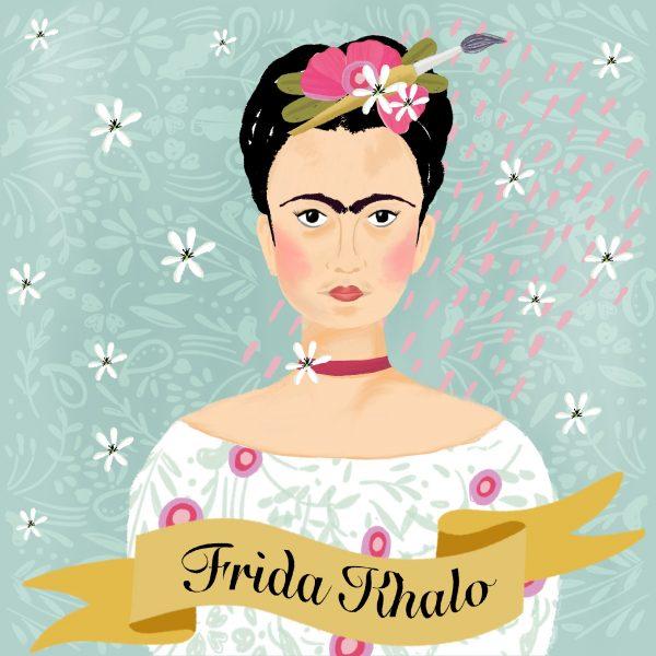 Portrait_-_Frida_Khalo