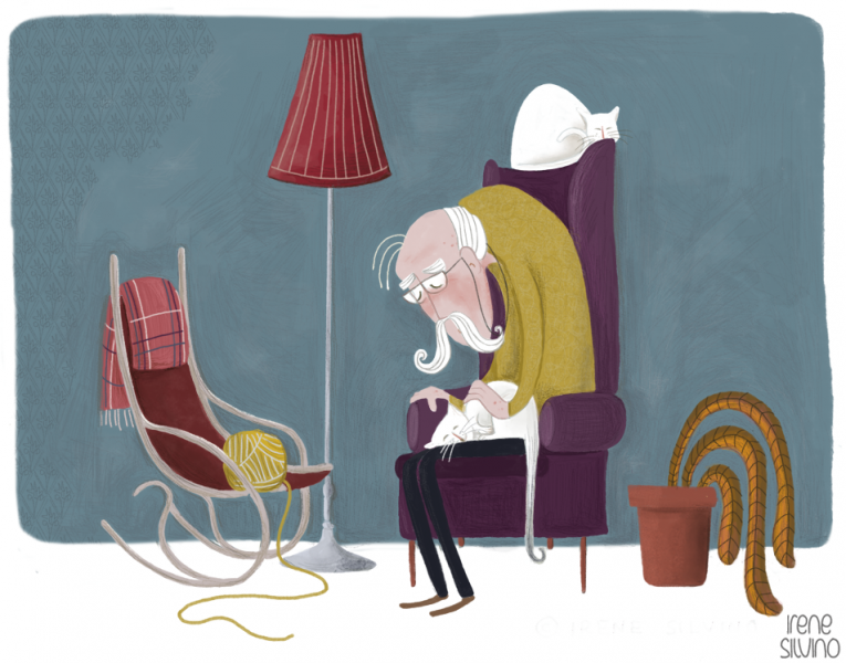 Empty Chair - by Irene Silvino