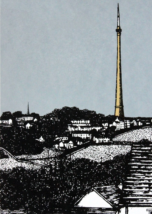 Sarah Harris - Beneath Emley Moor Mast