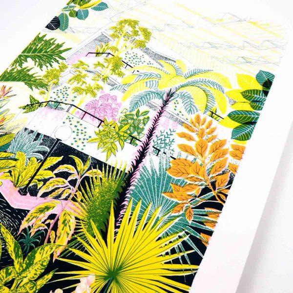 Barbican Silk Screen print
