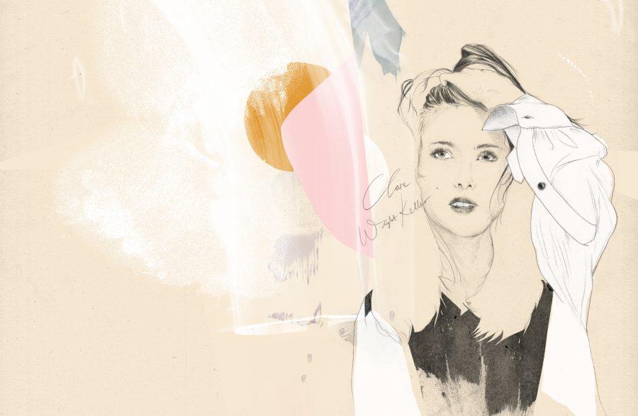 Baku Magazine Chloe Fashion Illustration