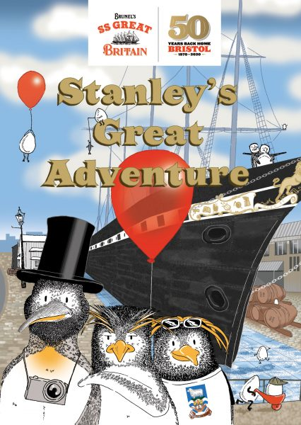 SS Great Britain Easter Penguin Trail Homecoming 2020