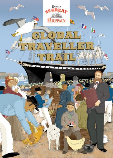 Global Traveller Trail - booklet cover design