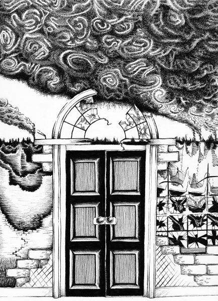Dark Lane vol.6 illustration by Sally Barnett, Illustrator Designer