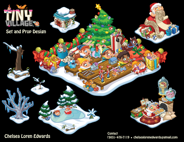 Tiny Village Christmas