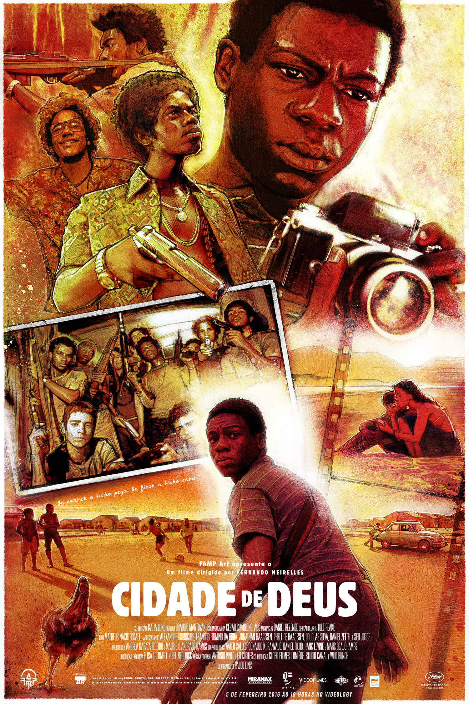 city of god film Late 1960s buscape is just another 11 year-old boy in cidade de deus, a  suburb of rio timid and frail, he observes the tough neighborhood street kids,  their.