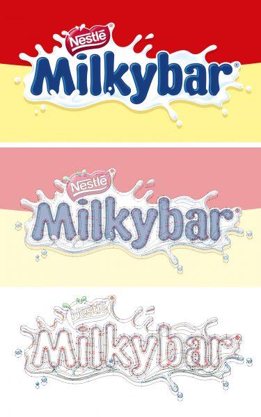 Milkybar Brand Logo
