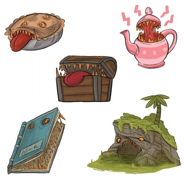 Mimic Stickers