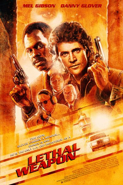 Lethal Weapon 30th Anniversary Poster