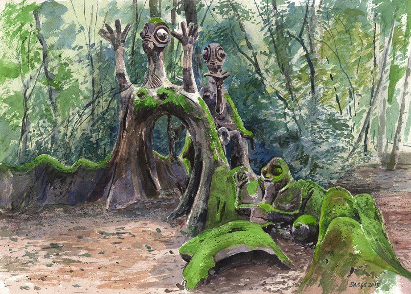 Igbo Ifa, Osun Groves