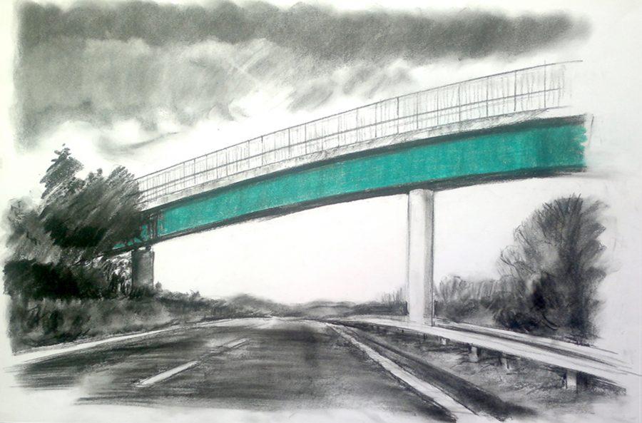 Footbridge overway