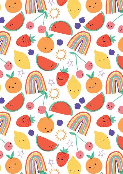 Fun Fruit Pattern