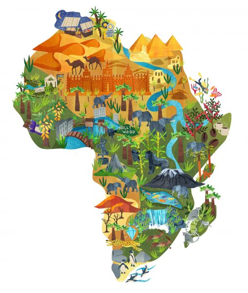 Africa Map_AstridWeguelin