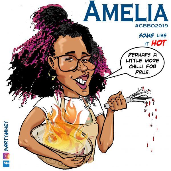 Amelia GBBO 2019