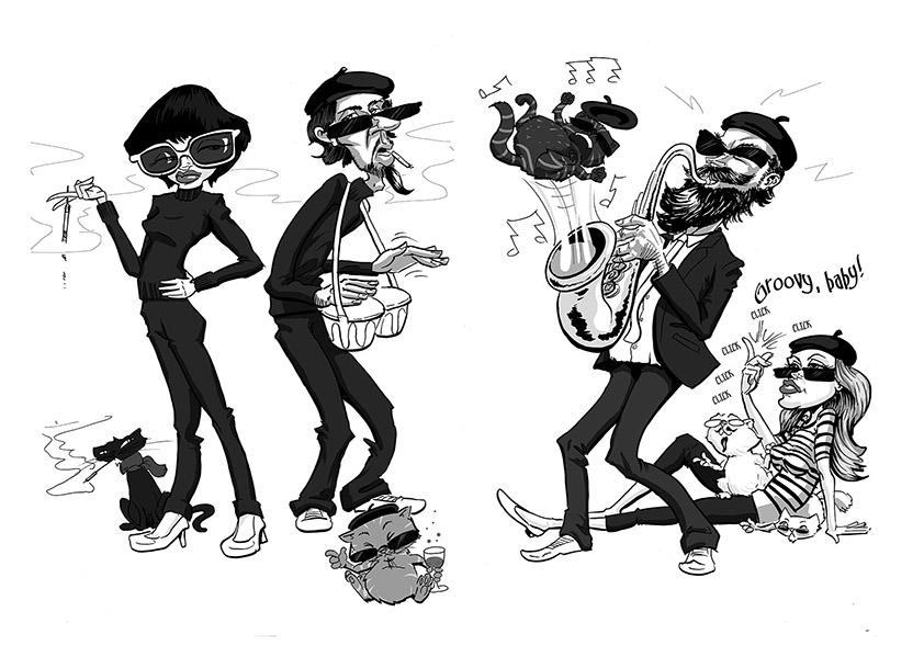 Beatnik Bunch and their Kool Kats