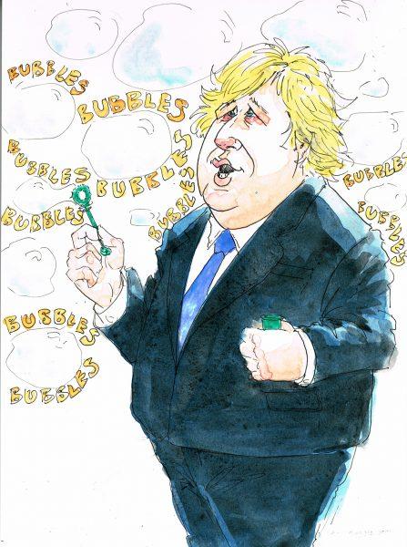 Boris Johnson Social Bubbles
