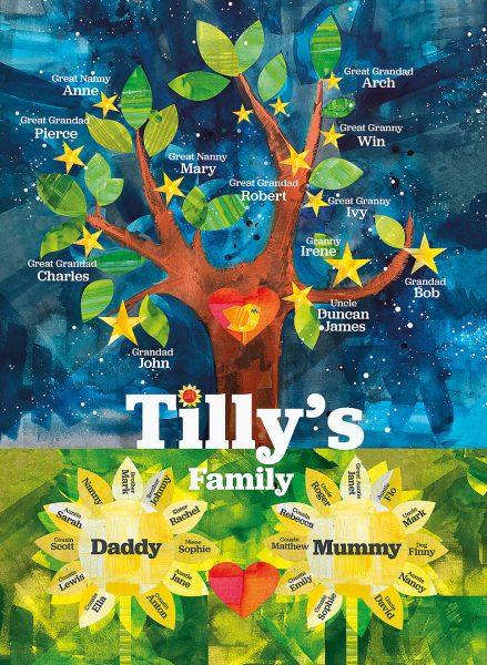 A Family star tree
