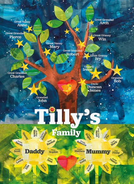 A Family star tree