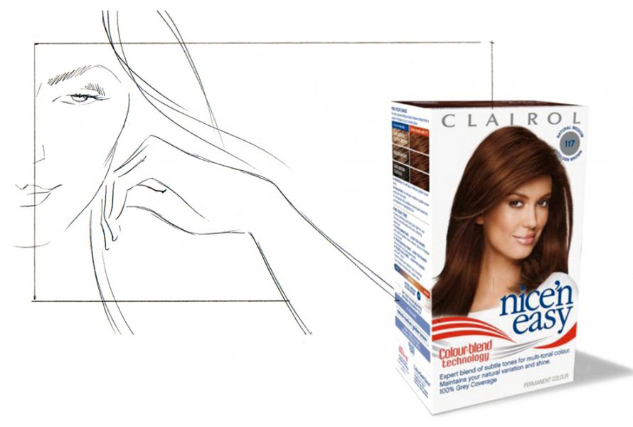 Storyboards - Advertising - CLAIROL