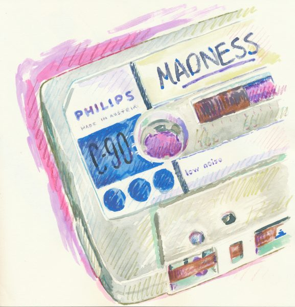 Cassette, Philips 70s, 'Madness'