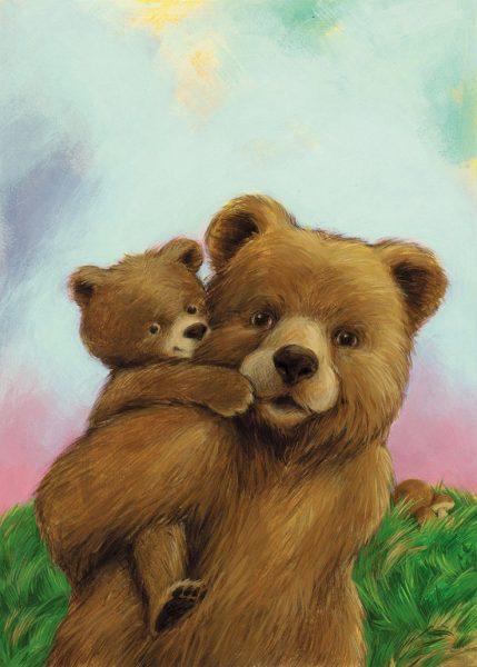 bears, animals