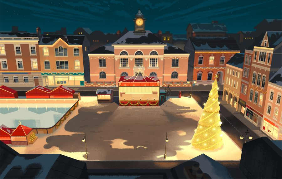 Colin-Bigelow-National-Lottery-Team GB-Christmas-Village