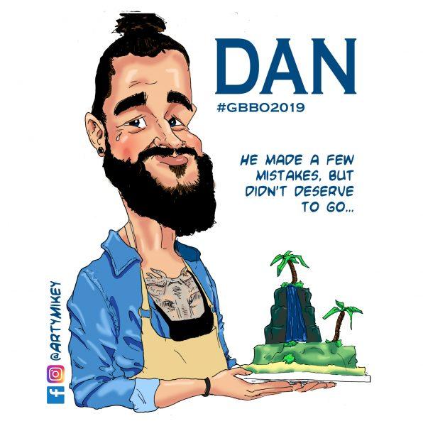 Dan The Great British Bake Off 2019