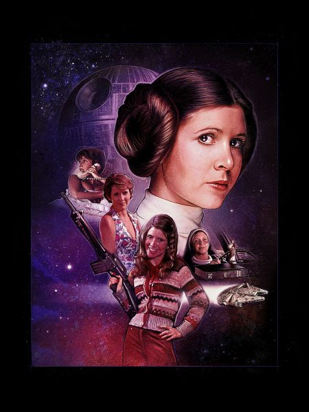 Empire Magazine - Carrie Fisher Tribute Art