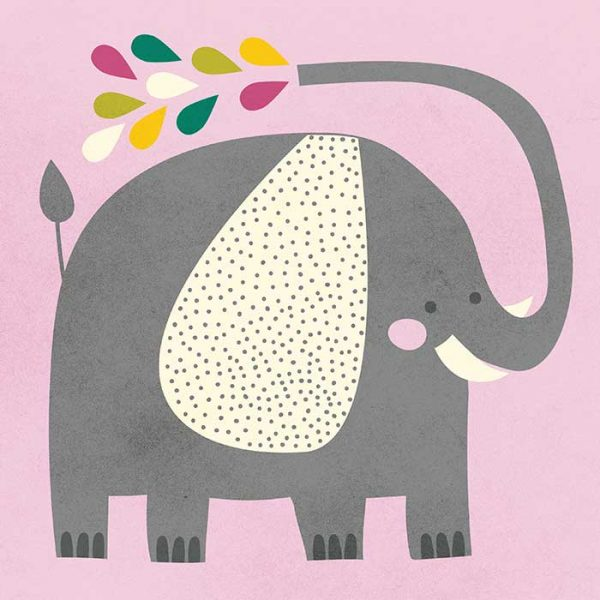 Elephant Character Illustration