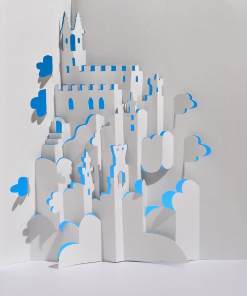 Fairy Castle Kirigami