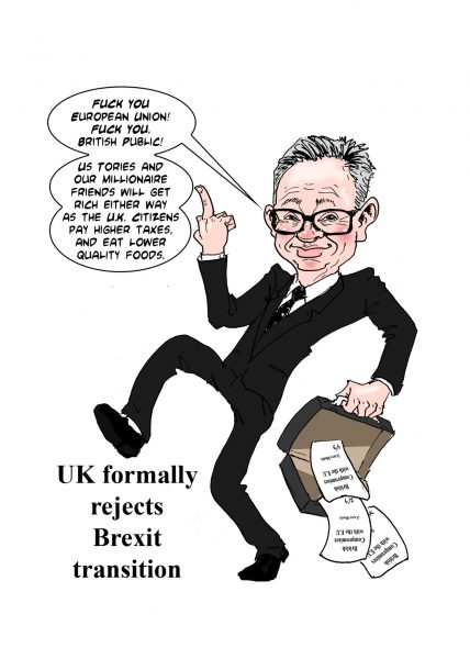 Michael Gove Reject Transition extension.