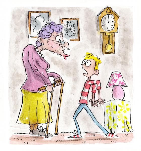 Granny's Kiss
