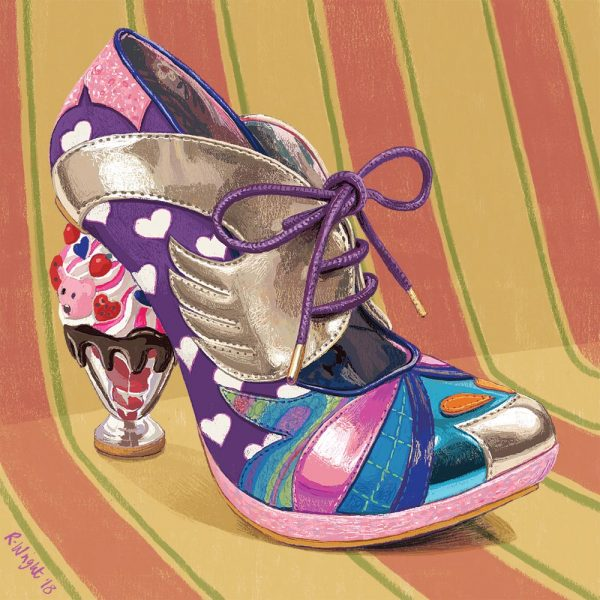 Irregular Choice shoes- 'Deckchair Diva'