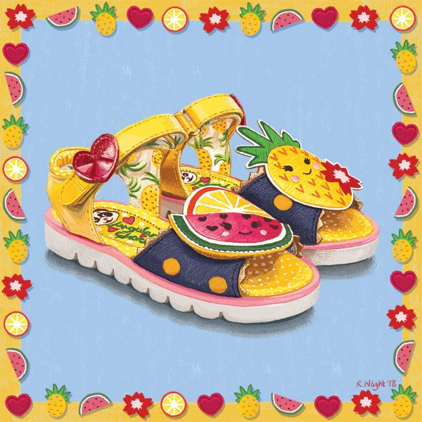 Irregular Choice shoes 'Frutti-tutti'