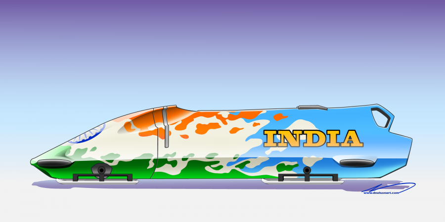 India Bobsled concept