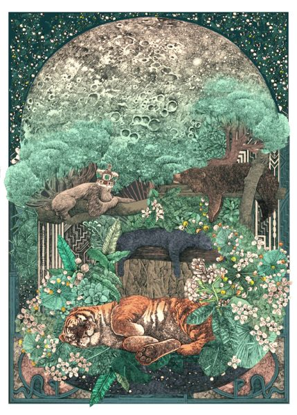 JungleBook-LucilleClerc-Night