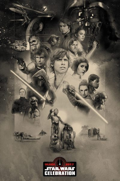 Star Wars Celebration Orlando Poster