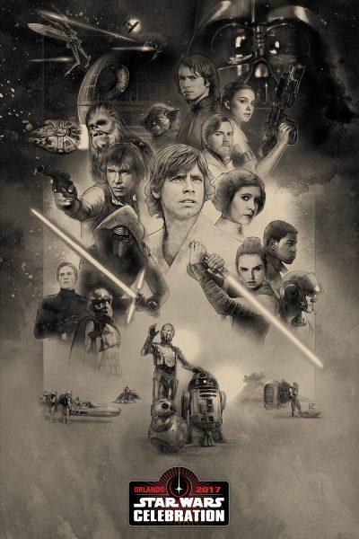 Star Wars Celebration Orlando Poster