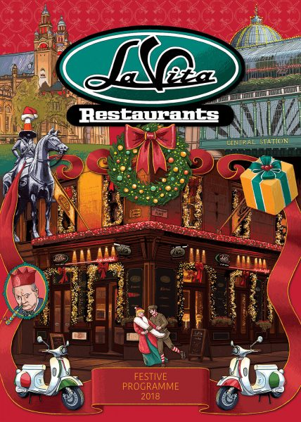 La Vita Christmas brochure cover