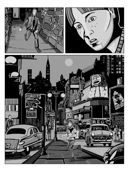 Murder Mystery. Page 4.