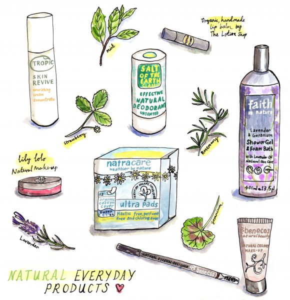 Natural beauty and health products